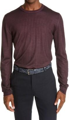 Boglioli Garment Dyed Wool Sweater