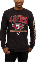 Junk Food Clothing Men's San Francisco 49ers Nickel Formation Long Sleeve T-Shirt