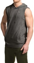 Pony French Terry Hoodie - Sleeveless (For Men)