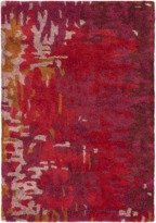 The Well Appointed House Surya Banshee Rug in Red, Pink, Lilac, Mustard and Burgundy-Available in a Variety of Sizes