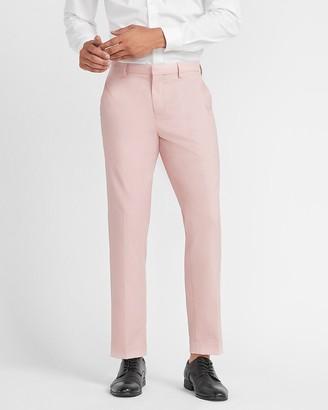 Express Slim Textured Wrinkle-Resistant Performance Dress Pant
