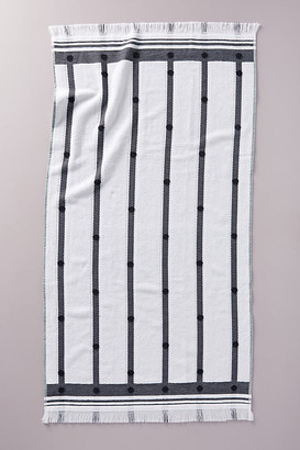 Anthropologie Bernadette Towel Collection By in Black Size BATH TOWEL