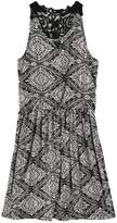 Speechless Girls 7-16 Lace-Back Tile Dress