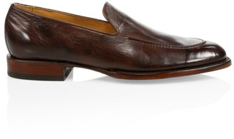 Lucchese Regis Leather Penny Loafers