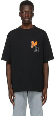 Marcelo Burlon County of Milan Black MB College Over T-Shirt