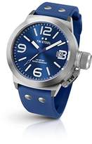 TW Steel Men's 'Canteen' Quartz Stainless Steel and Silicone Dress Watch
