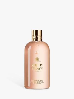 Molton Brown Jasmine & Sun Rose Bath & Shower Gel, 300ml