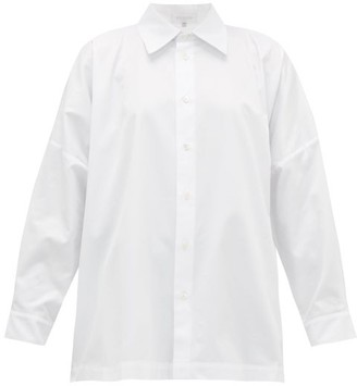 eskandar Relaxed Cotton-twill Shirt - White