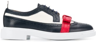 Thom Browne Bow-Detail Panelled Brogues
