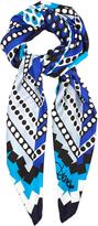 Diane von Furstenberg Silk Square scarf