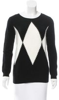 Pink Tartan Patterned Wool Sweater w/ Tags