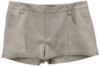 Jacquemus Beige Linen-blend Shorts