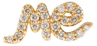 Alison Lou 14K Diamond Me Single Stud