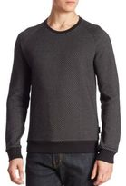 J. Lindeberg Regular-Fit Diamond Printed Sweatshirt