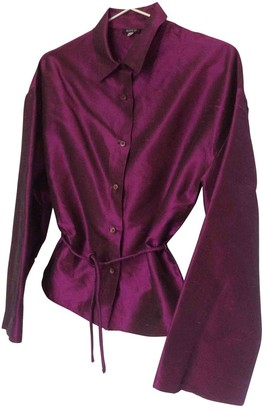 Aspesi Pink Silk Top for Women