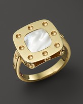 Roberto Coin 18K Yellow Gold Pois Moi Mother-of-Pearl Ring