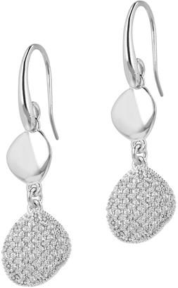 Diamonique 0.50 cttw Dangle Earrings, Sterling Silver