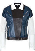 Jonathan Simkhai Leather Moto Jacket