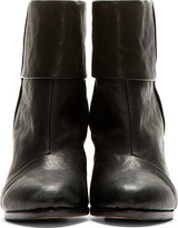 Rag and Bone Rag & Bone Black Leather Newbury Boots
