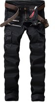 TMBSE Men's Slim Fit Stretch Biker Jean with Zippers