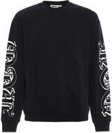 McQ Gothic-style Logo Print Sweatshirt