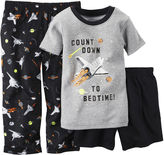 Carter's Short-Sleeve 3-pc. Space Pajama Set - Baby Boys 12m-24m