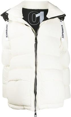 KHRISJOY Oversized Down Puffer Coat