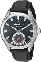 Alpina Men's AL-285BS5AQ6 Horological Smart Analog Display Swiss Quartz Watch
