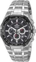 Casio Men's Edifice EF540D-1AV Stainless-Steel Analog Quartz Watch