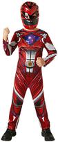 Rubie's Costume Co Power Rangers Red Ranger Dress Up Costume