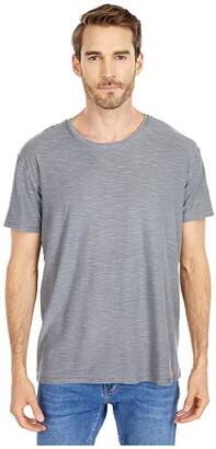 Alternative Raw Edge Slub Tee (Elephant Grey Pigment) Clothing