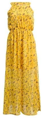 Dorothy Perkins Womens *Tenki Yellow Floral Print Maxi Dress, Yellow