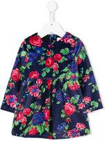 MSGM floral print velvet dress