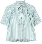 Cédric Charlier box fit striped shirt