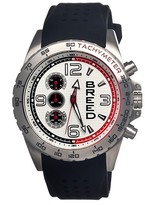 Breed Men's Touring Watch with Silicone Strap