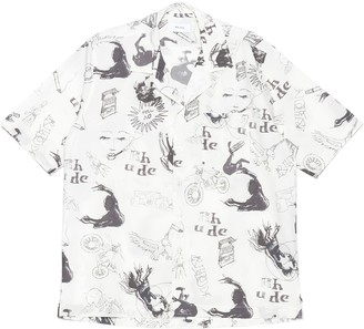 Rhude doodle Hawaiian Shirt
