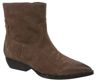 Sam Edelman Ava Suede Leather Booties