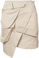 Alexandre Vauthier mini skirt - women - Cotton - 36
