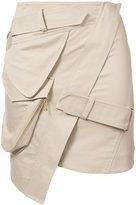 Alexandre Vauthier mini skirt - women - Cotton - 38