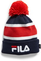 Fila The Heritage Collection Pom Stripe Cuff Beanie