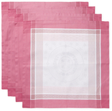Garnier Thiebaut Abeilles Royales Parme Cotton Napkins (Set of 4)