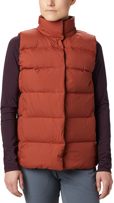 Mountain Hardwear Women's Outerwear Vests Rusted - Rusted Glacial StormTM Puffer Vest - Women