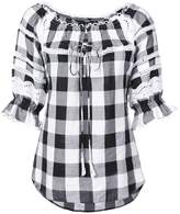 Marissa Webb checked blouse