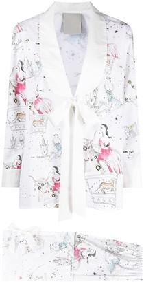 Seen Users Taurus horoscope-print suit