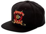 American Needle Spirit Crest Chicago Blackhawks Snapback Hat