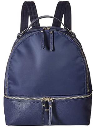 Lipault Paris Plume Avenue Small Backpack (Jet Black) Backpack Bags