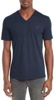 Versace Men's 'Medusa' V-Neck T-Shirt