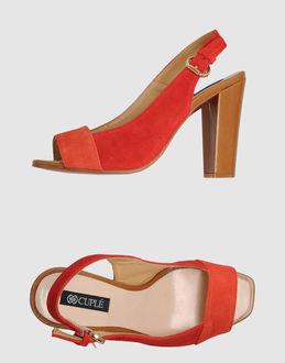 CUPLÉ High-heeled sandals