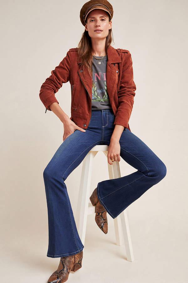 Chloe Mid-Rise Petite Flare Jeans