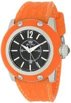 Glam Rock Women's GR40307OOF Palm Beach Dial Orange Silicone Watch
